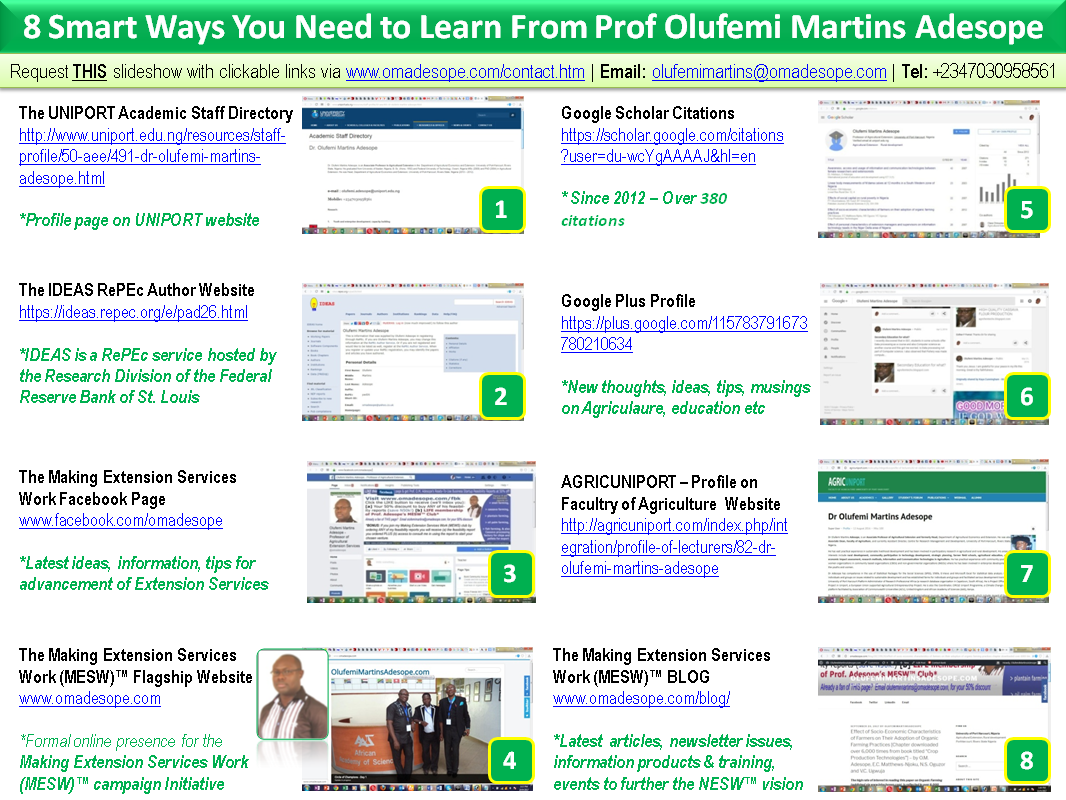 Click to view and download larger image - 8 Smart Ways You Need to Learn From Prof. Olufemi Martins Adesope [FREE IMAGE AND SLIDESHOW DOWNLOADS]